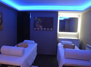 Perfecto sala de masaje pequeña